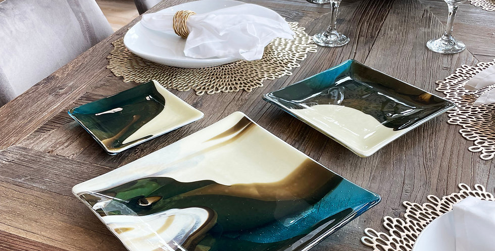 "Vanilla 6"", 8"" and 10"" Plates"