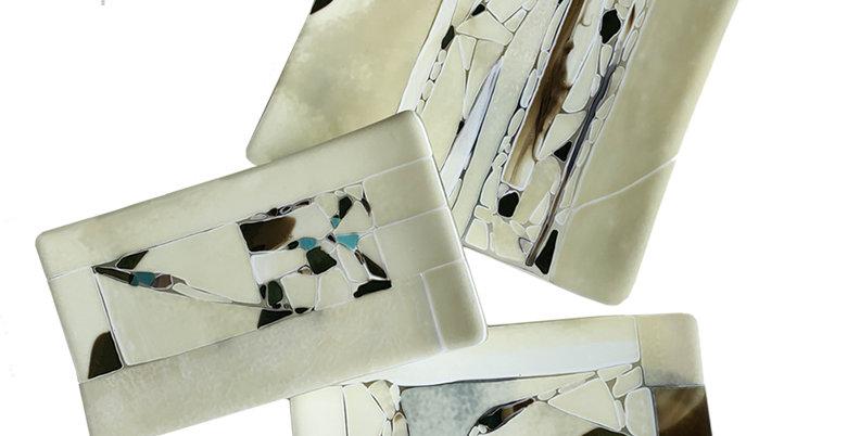 Vanilla Crush Decorative Platters - Set of 3