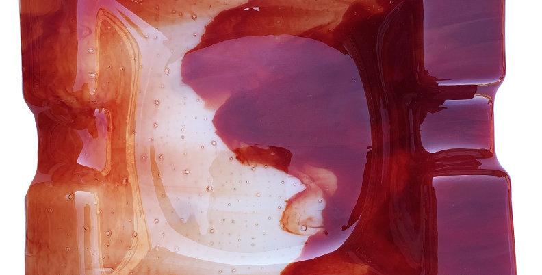 Red Smoky Ashtray - Large