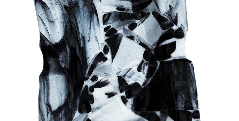 Black Smoky Crush Ashtray - Large