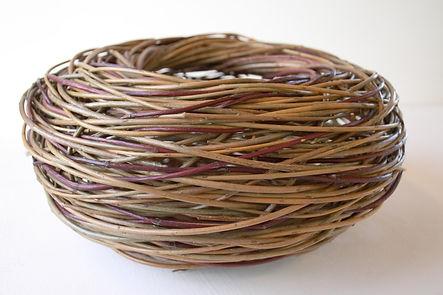 1. Nest basket with Dogwood. Angela Cole