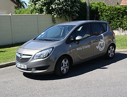Véhicule Opel Meriva Moby et Handy