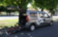 Véhicule Opel Combo Moby et Handy