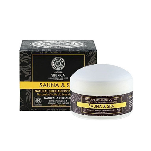 Natura Siberica Sauna & Spa Natural Siberian Foot Butter 120 ml