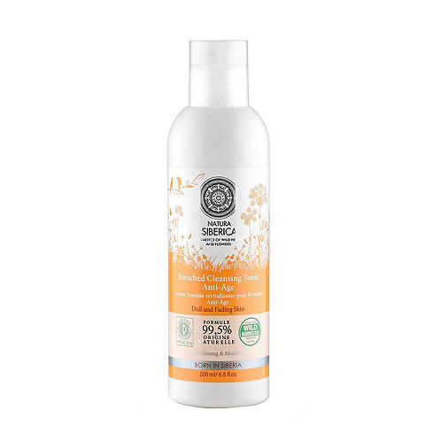 Natura Siberica Enriched Cleansing Tonic Anti-Age 150 ml