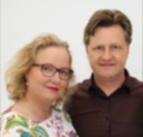 Diana en Eddy 2018 gespiegeld - met rand