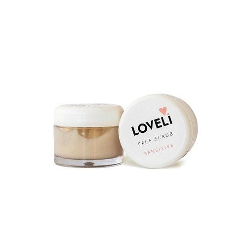 Loveli Face Scrub Sensitive travelsize 10 ml