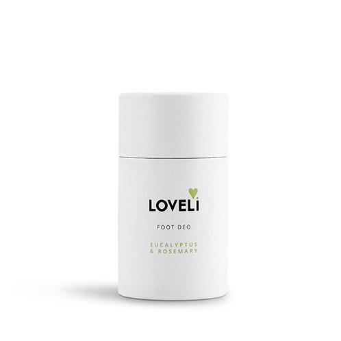 Loveli Foot Deo 60 gram