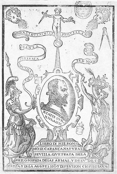 Jerónimo Sánchez de Carranza, De la Filosofia de las Armas y de su Destreza y la Aggression y Defensa Cristiana, 1569