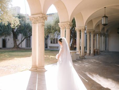 Connie & Eric's Pasadena Athenaeum Fall Wedding