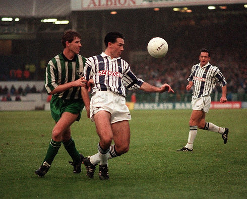 Pictures of West Bromwich Albion legend