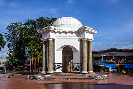 Thomas Parr Monument, Bengkulu