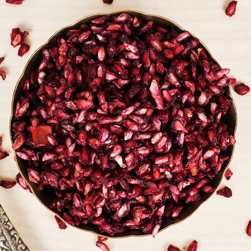 Dried Pomegranate Seeds - Anardana 200Gms