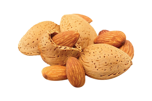 Almonds with Shell 500 gms