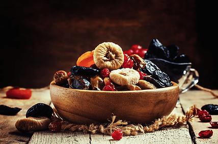Dry fruits, raisins, cranberry, goji berry, anjeer, bowl, table top
