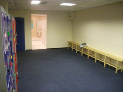 Brand New Changing rooms
