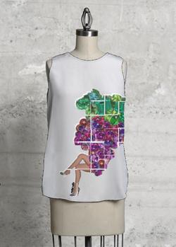grape shirt