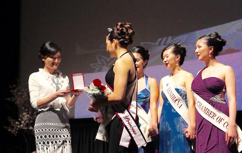 Asuka Saito, queen program jewelry, san francisco, cherry blossom festival