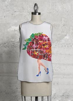 strawberry shirt