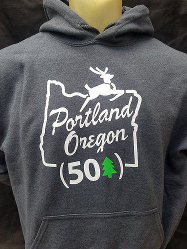 Portland Stag Pullover Hoodie