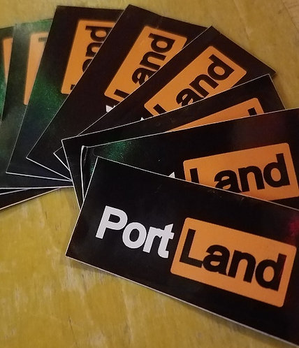 Port Land Stickers