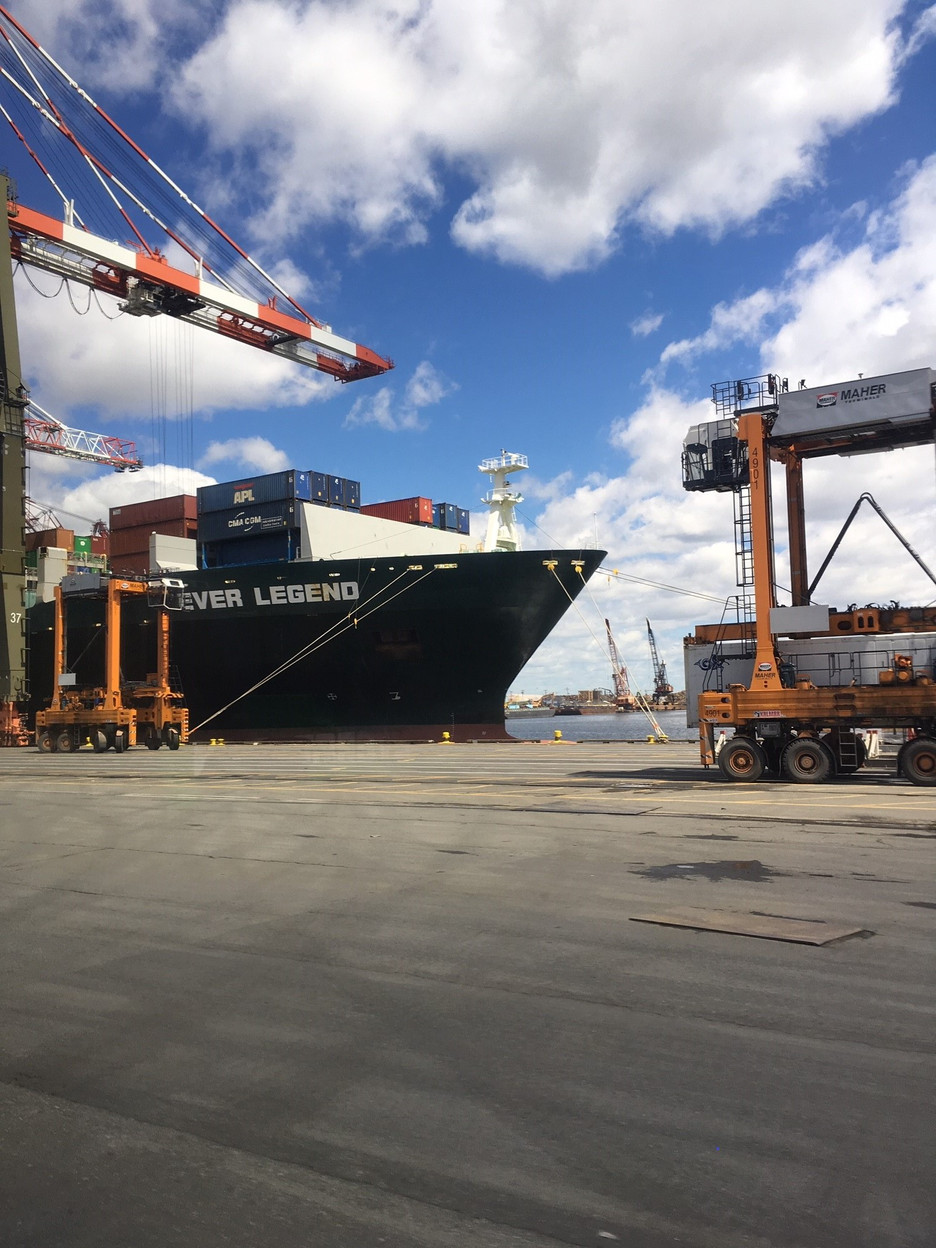 Event Recap: Tour of Maher Terminal, Hosted by the Port Authority of NY & NJ