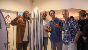 """Country Surfboards e Miguel Blanco lançam novo modelo de prancha - """"The Killer Fish"""""""