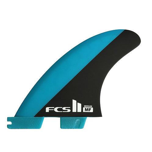 FCS II MICK FANNING TRI FINS BLUE