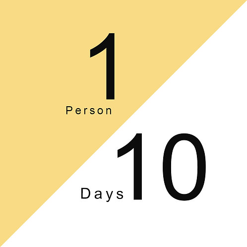 Feed 1 Person For 10 Days