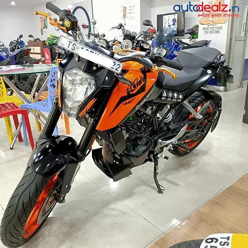 KTM Duke 125 ABS BSVI