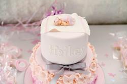 Hailey's Baptism Cake