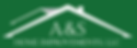 A&S Home Improvements LLC Hendersonville Logo