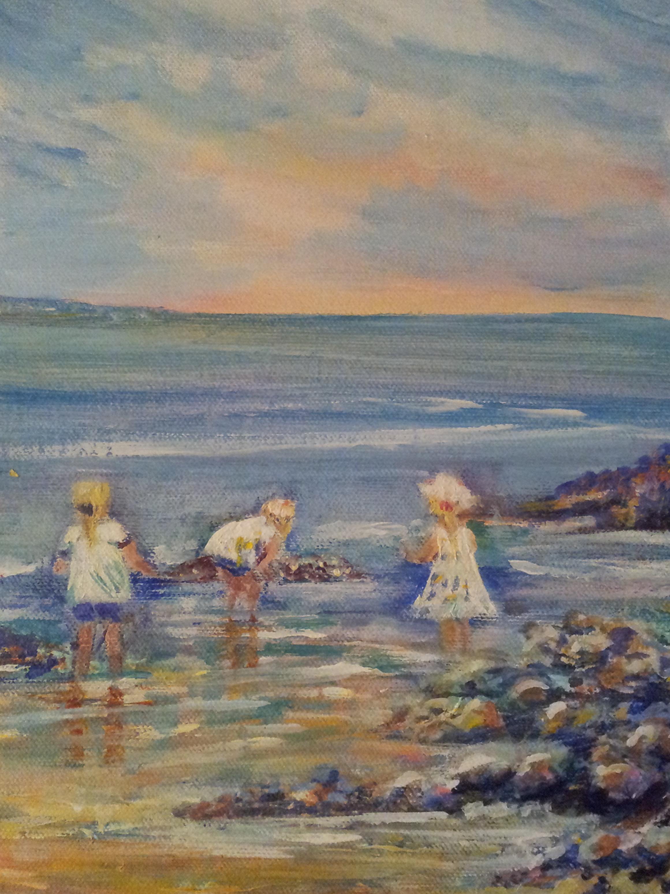 Children at Breakwater Beach