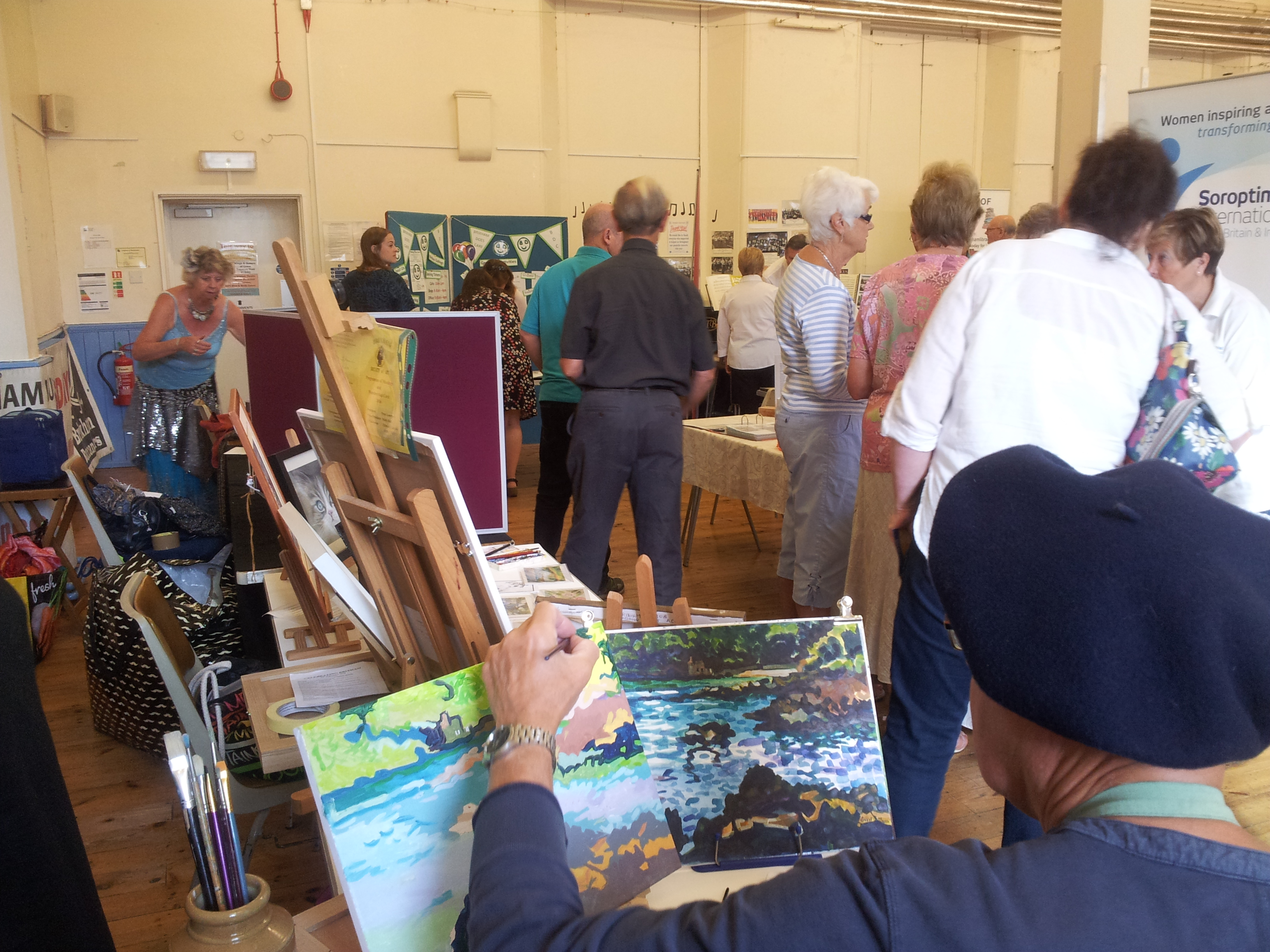 Event in Sept to attract new members