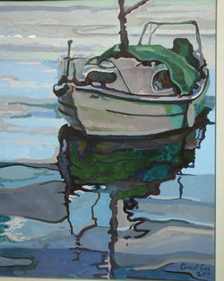 Boat Reflections 1