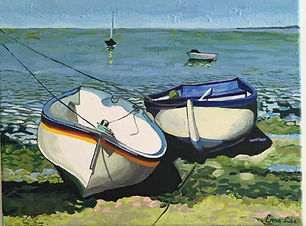 Ernie Lee, Boats at Rest