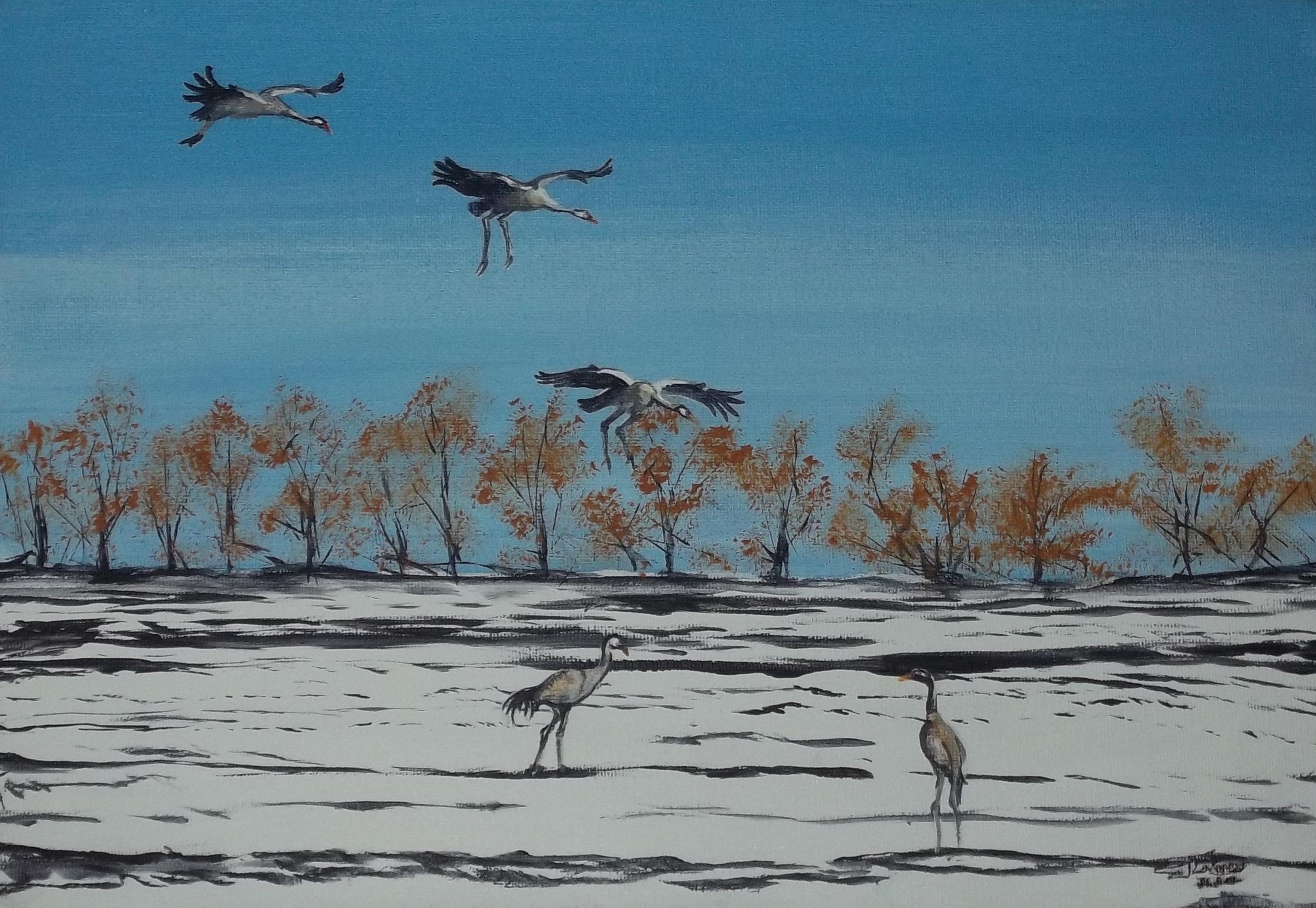 Return of Five Cranes