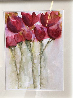 David Hazelton, Red Tulips