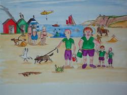 Devon beach