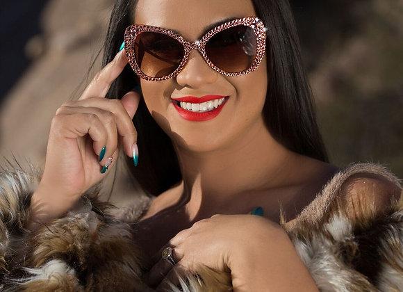 ROSIE ROSAY Cat Eye Sunglasses