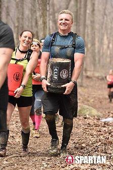 BCCF Member Paul doing a Spartan race