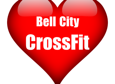 Happy Valentine's Day from  Bell City CrossFit!