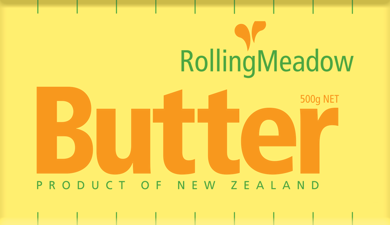 Rolling Meadow Natural Butter 500g