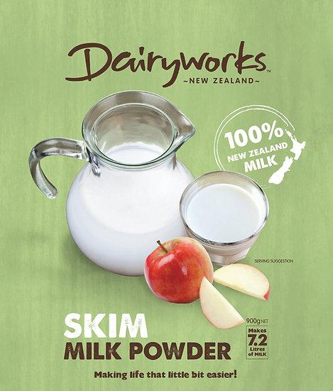 Dairyworks Milk Powder Skim 900g / 300g