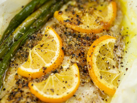 Dairyworks lemon butter fish