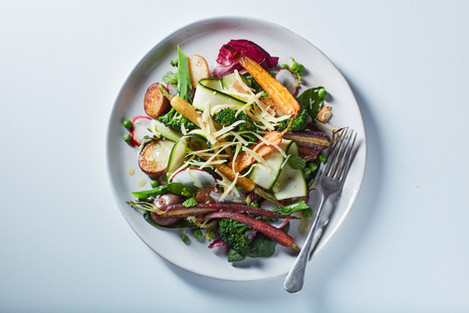 Fresh & Organic Vegetable Salad