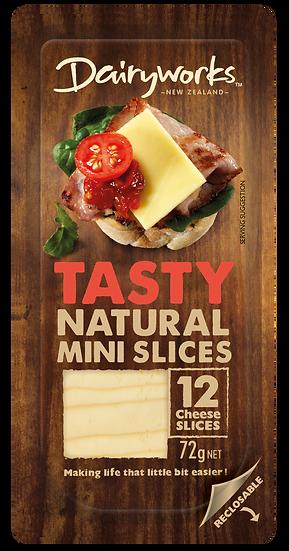 Dairyworks Tasty Natural Mini Slices 72g