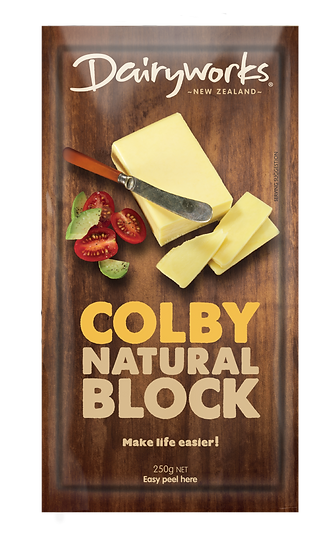 Colby Natural Block 250g