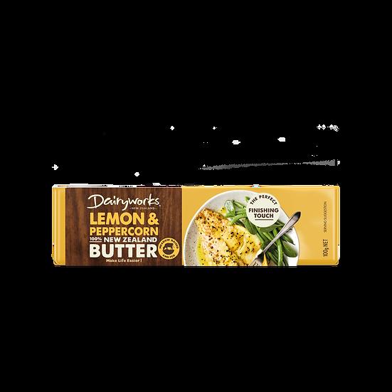 Dairyworks Lemon & Peppercorn Butter 100g