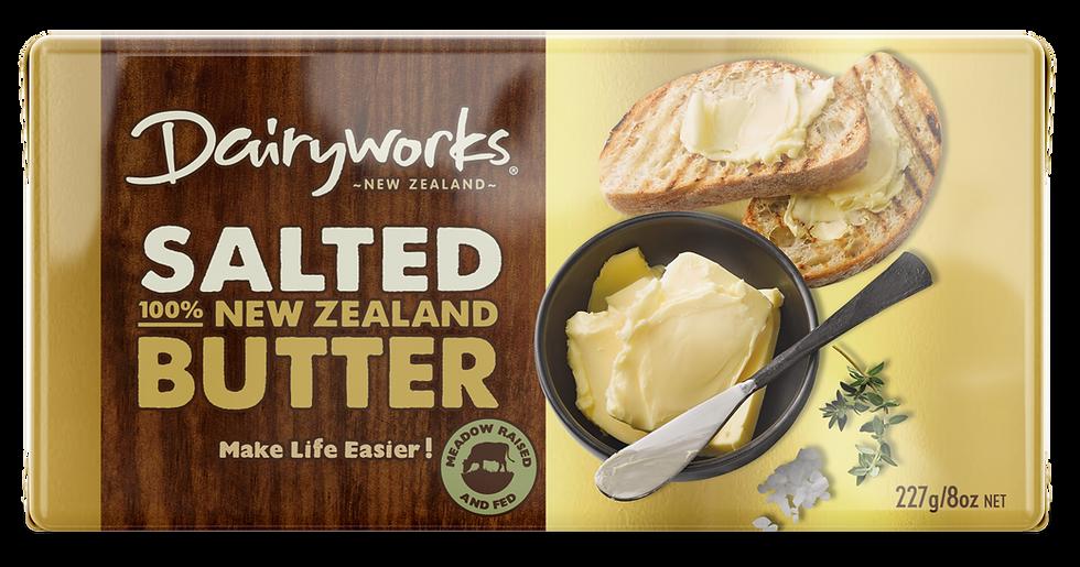 Dairyworks Salted Butter 227g